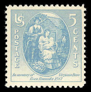 Virginia_dare_stamp
