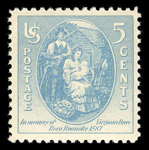 Virginia_dare_stamp