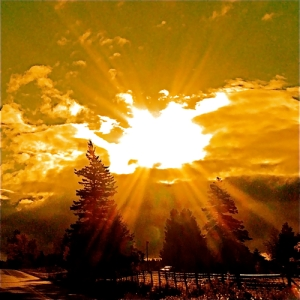 A luz do meu coração a iluminar o teu mundo, irrigando-o de clareza, erradicando as sombras de outrora.